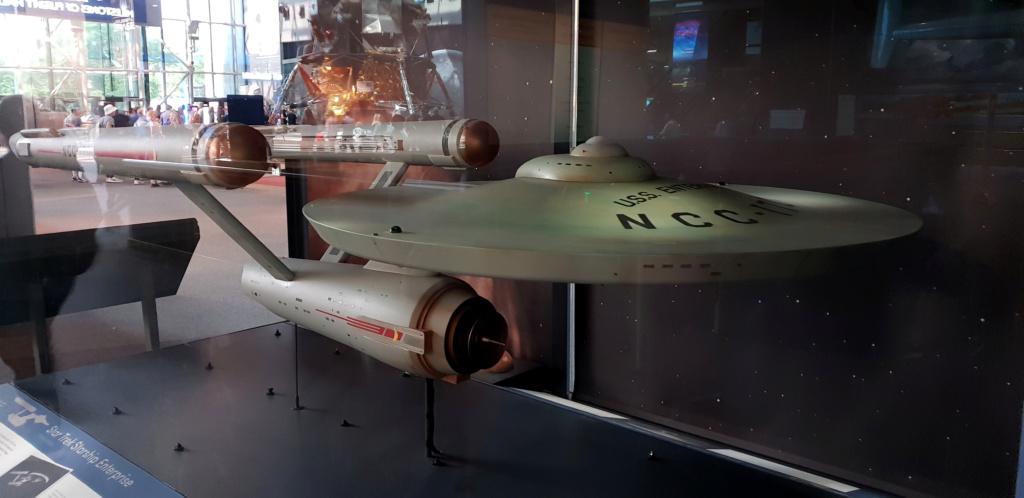 USS Enterprise TOS : modèle de tournage au Smithsonian Washington 20190618