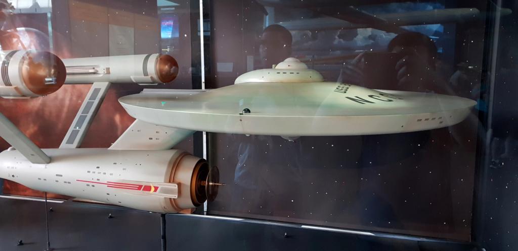 USS Enterprise TOS : modèle de tournage au Smithsonian Washington 20190619