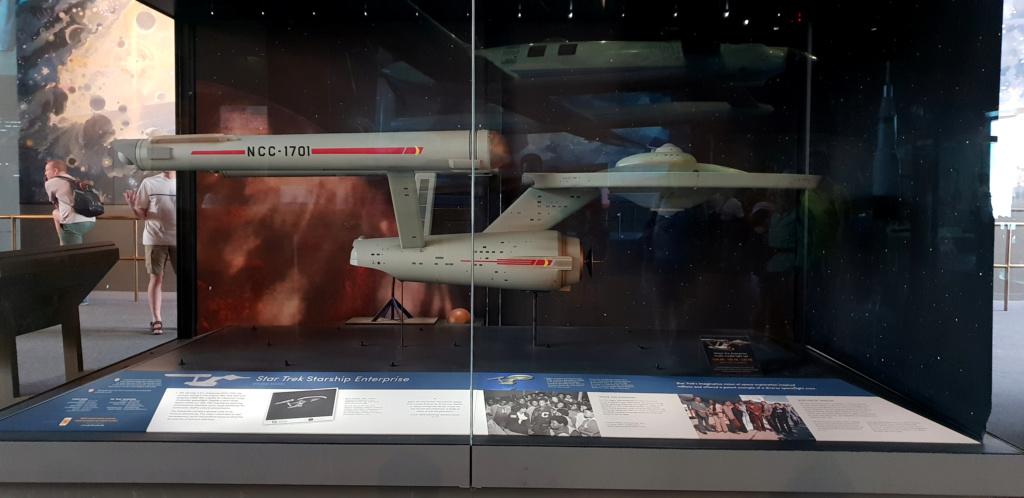 USS Enterprise TOS : modèle de tournage au Smithsonian Washington 20190620
