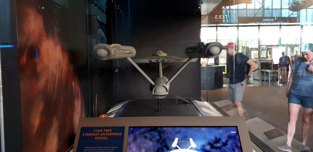 USS Enterprise TOS : modèle de tournage au Smithsonian Washington 20190621