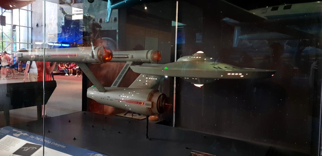 USS Enterprise TOS : modèle de tournage au Smithsonian Washington 20190624