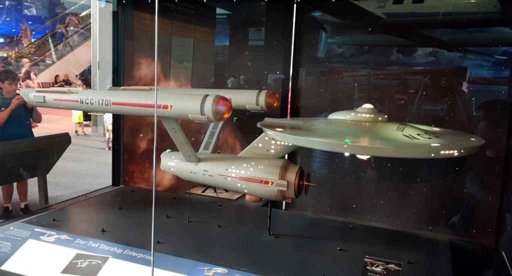 USS Enterprise TOS : modèle de tournage au Smithsonian Washington 20190626