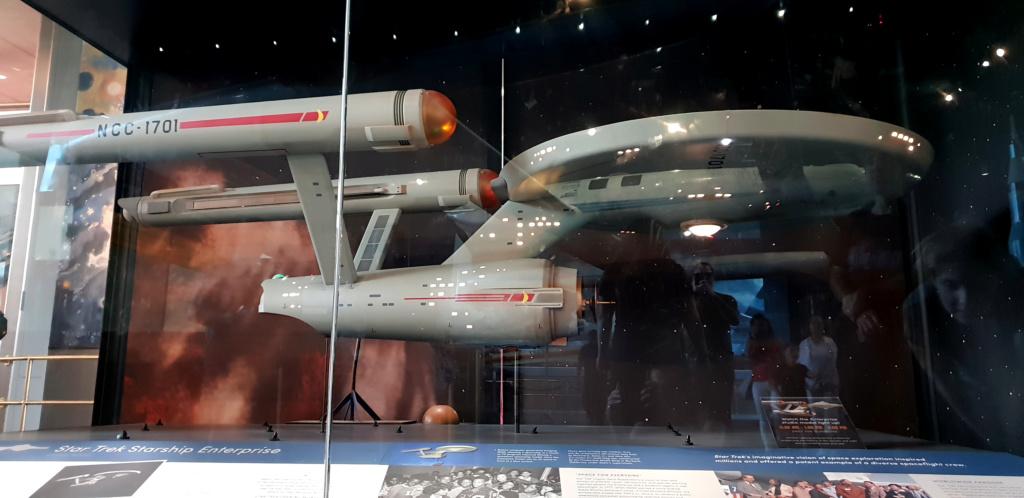 USS Enterprise TOS : modèle de tournage au Smithsonian Washington 20190627