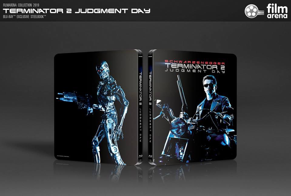 Terminator 2 : Filmarena steelbook 43028810