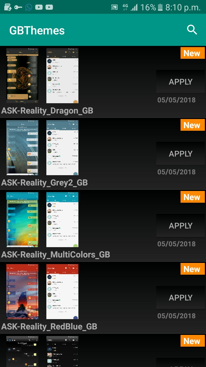 GBWhatsApp Apk Latest Version 6.40 Download For Android Screen12