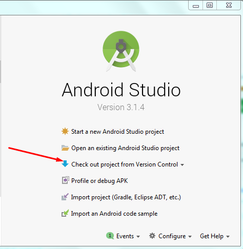 how to use  github project on android studio Screen29