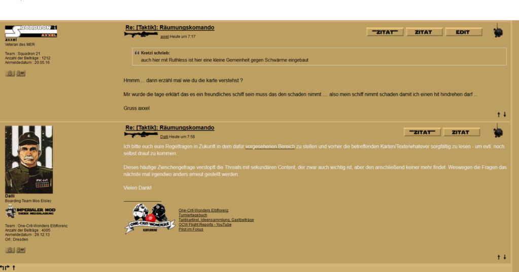 wofür ist ein forum da ? .... und wofür admins Dalli10
