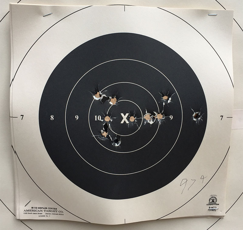 double lubing - what 50 yd accuracy problems does this cause? 185swc10