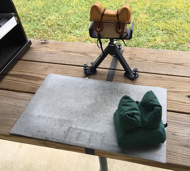 What's your favorite bench pistol rest or sandbag type. 307910