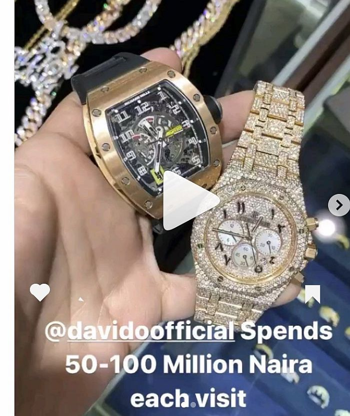 """Davido Spends Between 50 To 100 Million Whenever He Visits My Shop"" – US Jeweller, Icebox Reveals 0b9f4d10"