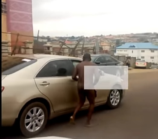 Lagos Driver Strips Unclad To Escape Arrest (Photos) 1-13618