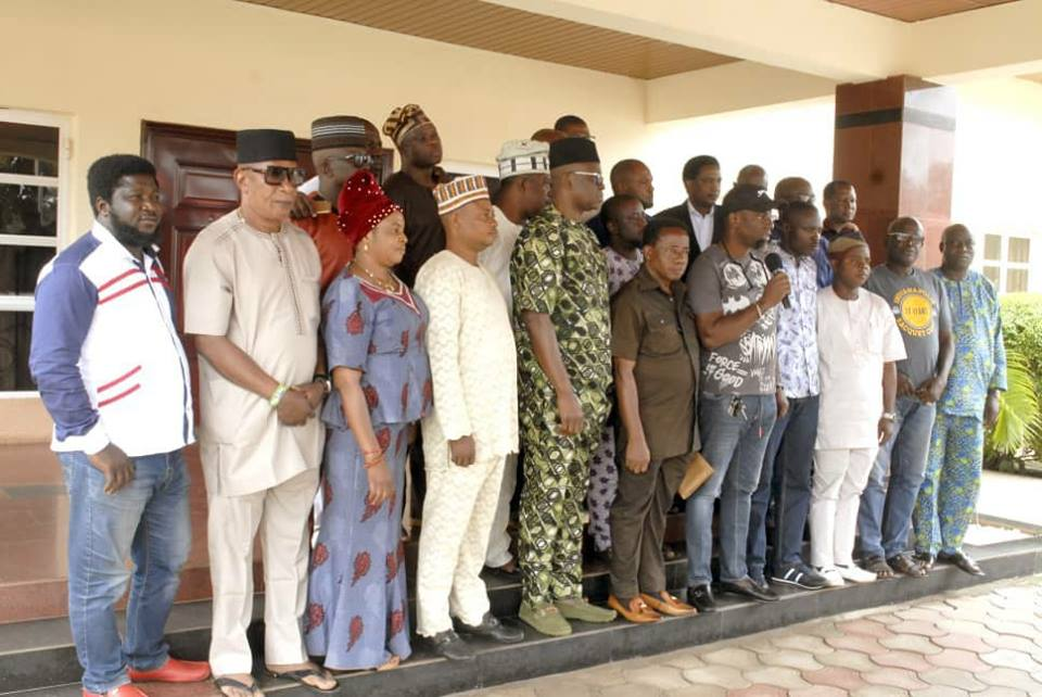23 Members Of Ekiti House Of Assembly Storm Fayose's Residence (Photos) 1-19810