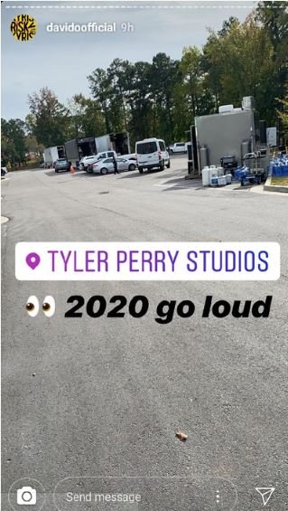 Davido Unveils First Studio Project With American Actor, Tyler Perry (See Photos) 1-2711