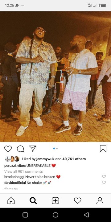 "Peruzzi Defines His Relationship With Davido As ""Unbreakable"" (See Photo) 1-3111"