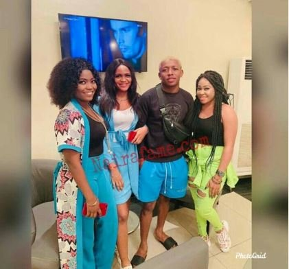 Audio Pregnancy: Davido's Accusers Hang Out With Small Doctor (Photos) 1-5912