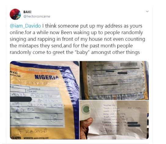 Man Whose Address Was Given Out As That Of Davido Online, Cries Out 1-6311