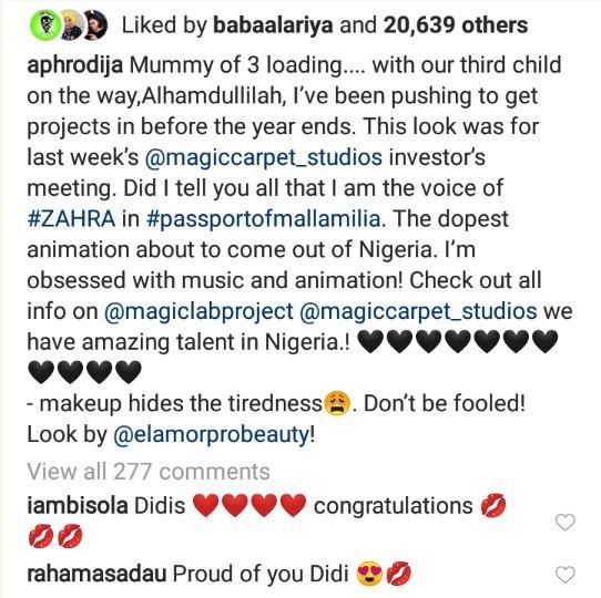 Singer Dija Expecting Her 3rd Child 1-7811