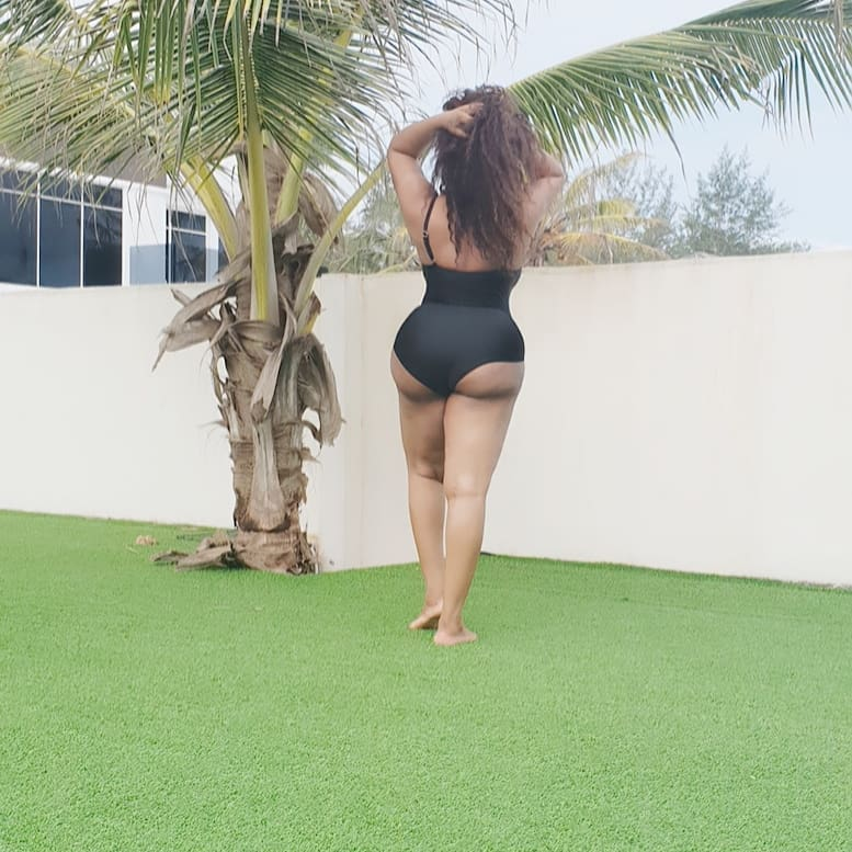 Nigerian Actress Fires Back At Fans For Butt Shaming Her 1-8810
