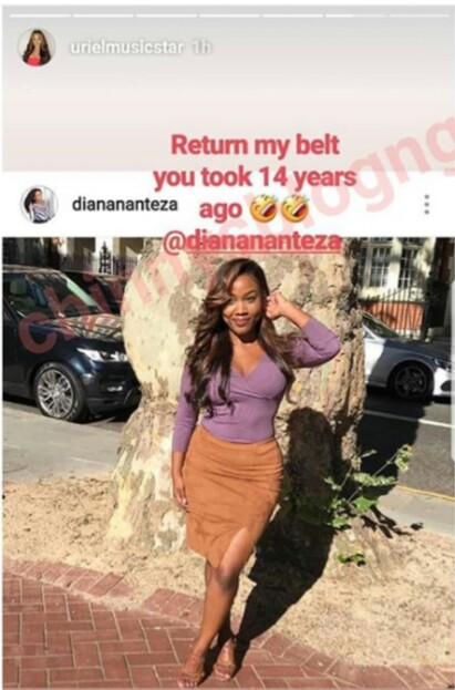 Return My Belt You Took 14 Years Ago – Ex-BBN Housemate Tells Her Childhood Friend (Photo) 1-9511