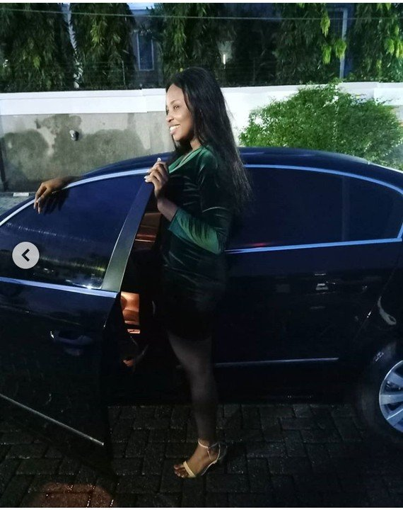 BBNaija's Cindy Receives A New Car As Gift (See Photos) 10427512