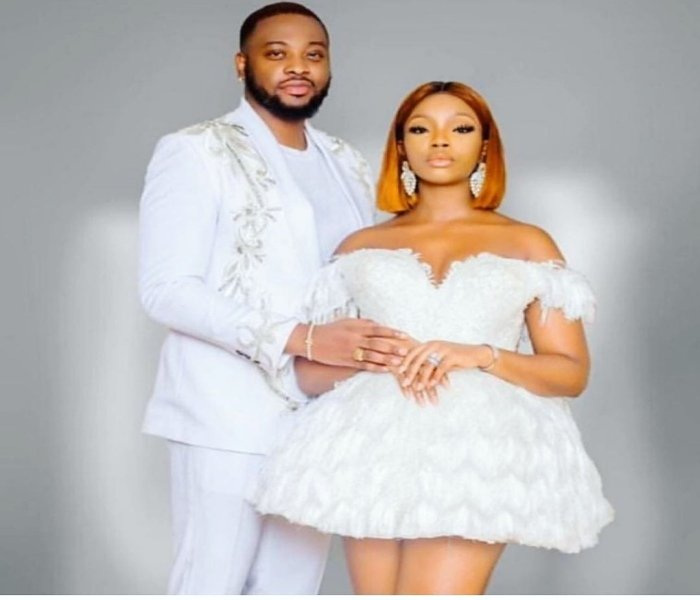 BBNaija's Bambam & Teddy A Release Stunning Photo Ahead Of White Wedding In Dubai 10557011