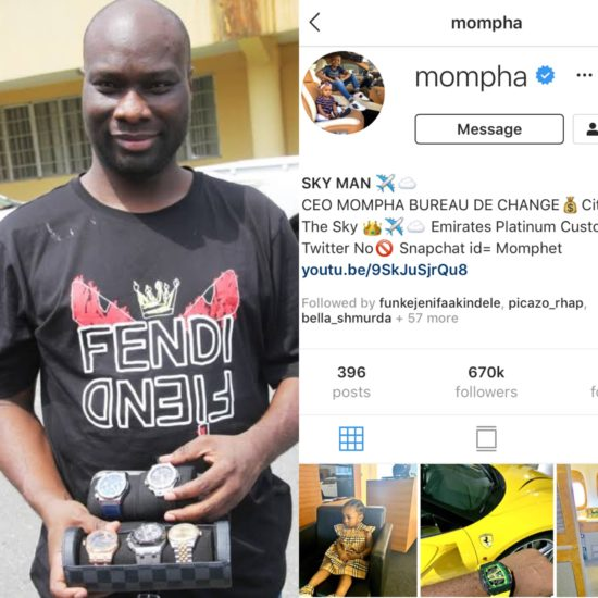 Mompha Returns To Instagram After Sudden Disappearance 10566310