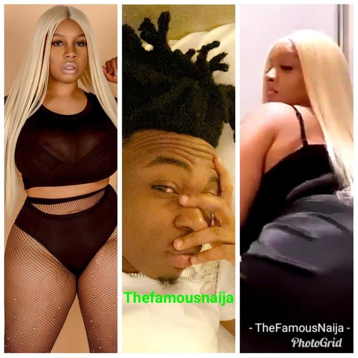 'She Has The Biggest Backside I've Seen'- Mayorkun Gushes Over His Curvy Friend (Video) 10568410