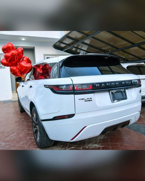 Mercy Eke Gifts Herself A Range Rover Velar As She Celebrates Her 27Th Birthday 12020311