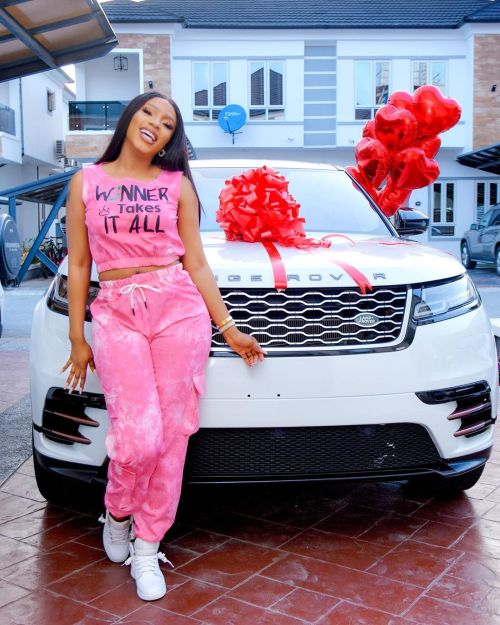 Mercy Eke Gifts Herself A Range Rover Velar As She Celebrates Her 27Th Birthday 12030210
