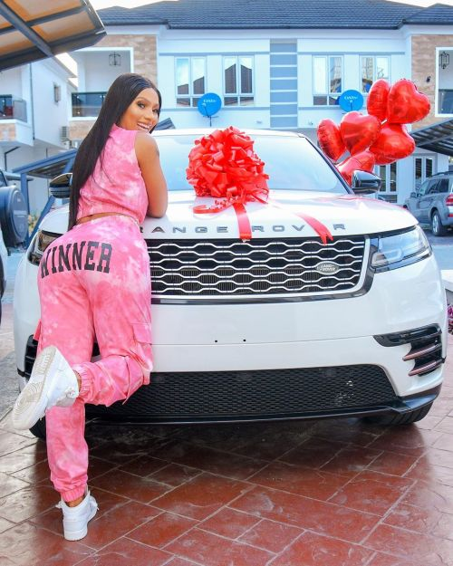 Mercy Eke Gifts Herself A Range Rover Velar As She Celebrates Her 27Th Birthday 12031810