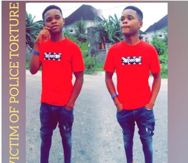 Young Man Beaten To Death By Police After Being Labelled Yahoo Boy (Photos) 2-15110