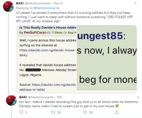 Man Whose Address Was Given Out As That Of Davido Online, Cries Out 2-4112