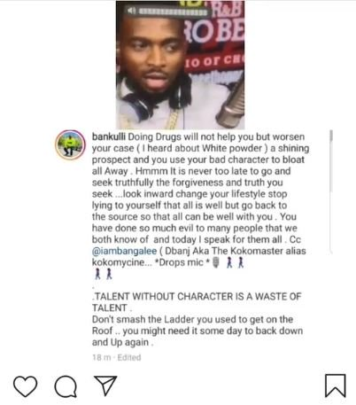 Bankulli Reveals Shocking Things About D'banj And His Career 2-4910