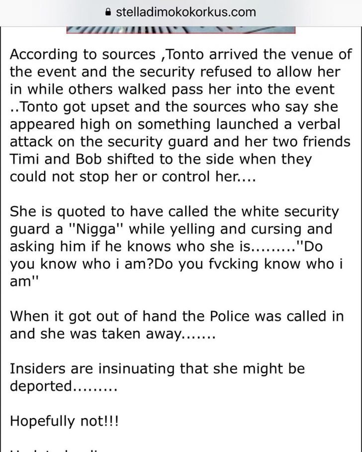 Police Arrest Tonto Dikeh In Dubai, Might Be Deported – Sources Gives Update 2-53-710