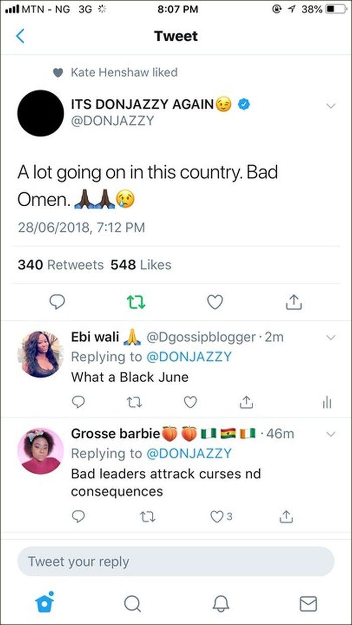 Don Jazzy Reacts To Otedola Bridge Explosion (Read What He Said) 29312110
