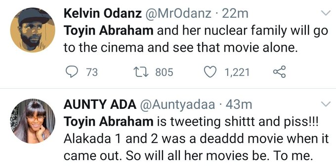 Nigerians Drag Actress, Toyin Abraham For Saying This 3-113