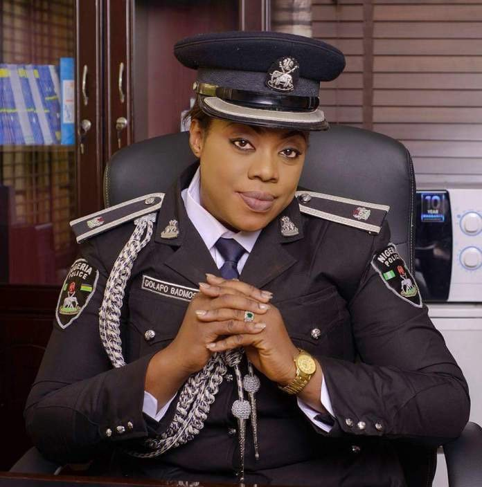 Celebrity Police Officer, Dolapo Badmus Welcomes Baby Girl (Watch Photo) 3-2412
