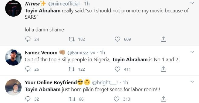 Nigerians Drag Actress, Toyin Abraham For Saying This 4-111