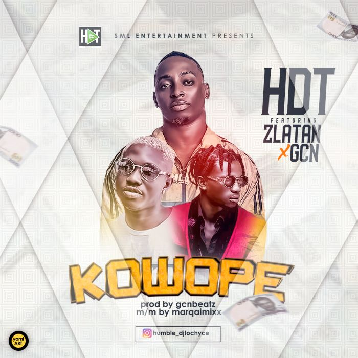 "HDT – ""Kowope"" Ft. Zlatan & GCN 