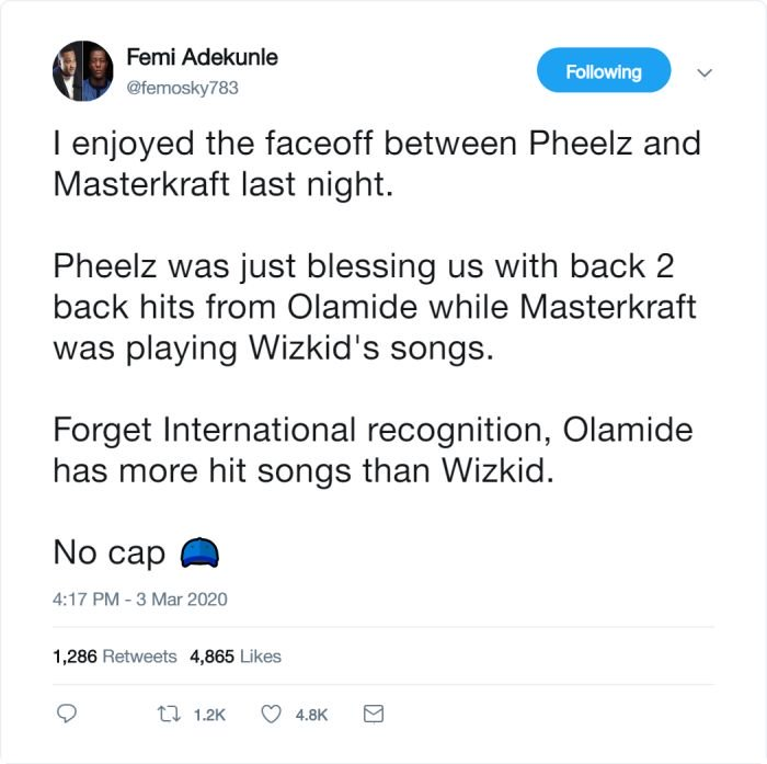 OLAMIDE Has More Hit Songs Than WIZKID – Do You Agree? (See This) 54567810