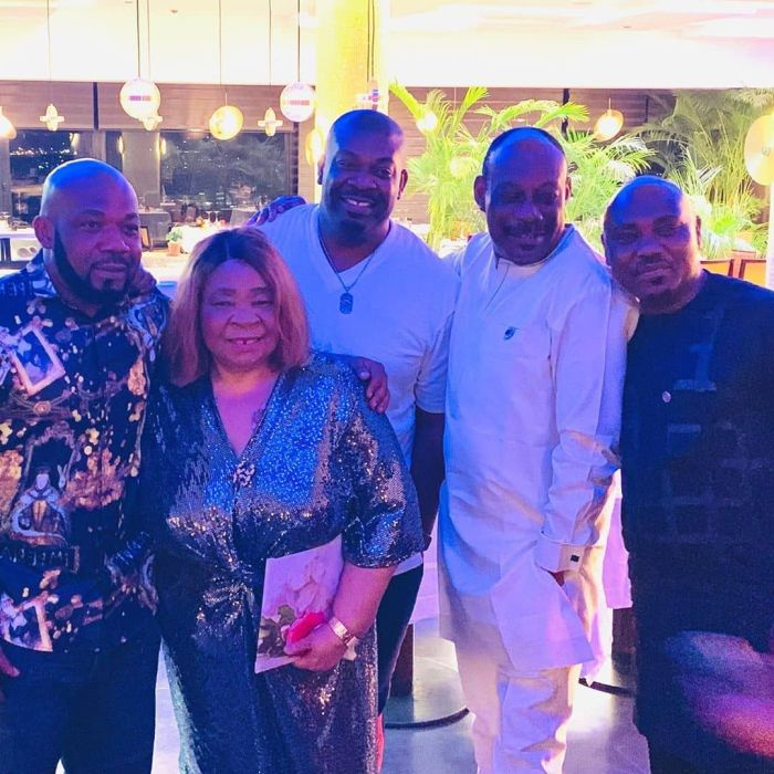 Don Jazzy, D'Prince And Their Siblings Celebrate Their Mother's Birthday In Lagos (Photos) 5d774a10