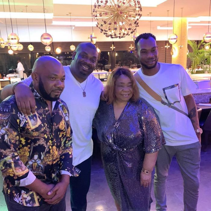 Don Jazzy, D'Prince And Their Siblings Celebrate Their Mother's Birthday In Lagos (Photos) 5d774b12