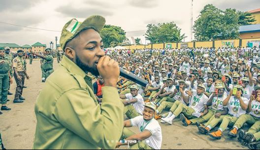 Davido Causes Commotion As He Arrives Lagos Camp (See Photos) 66666610