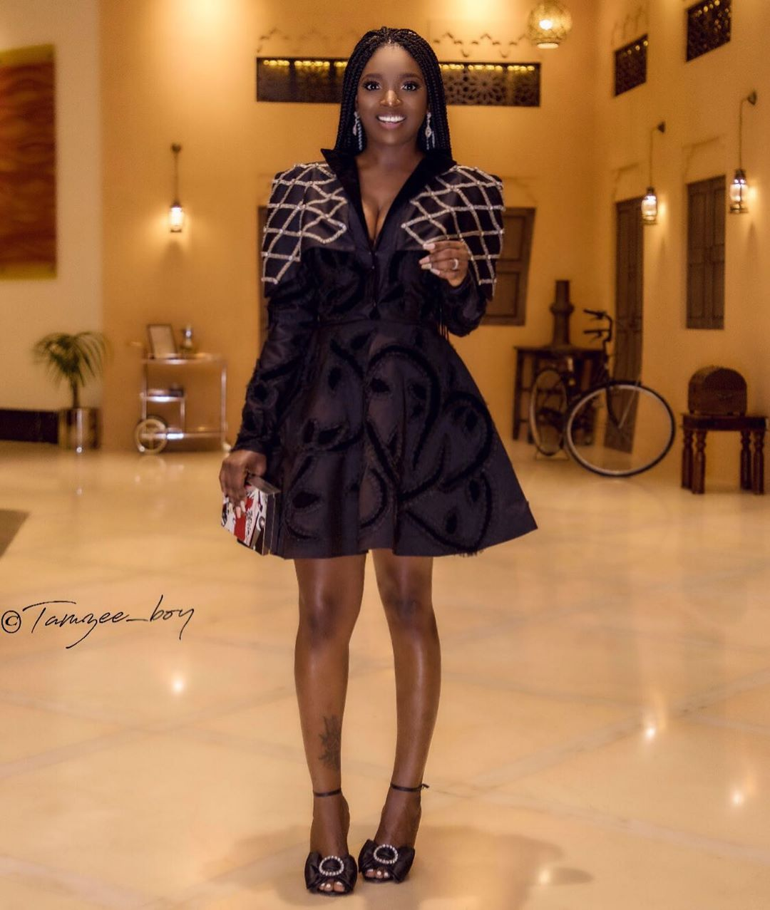 """I'm Proud Of My Natural Bow Legs"" – Annie Idibia Shut Down A Body-shamer 72186310"