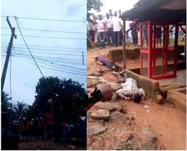 Two Men Electrocuted After Antenna Pole Touches High-Tension Wire 777-1_10