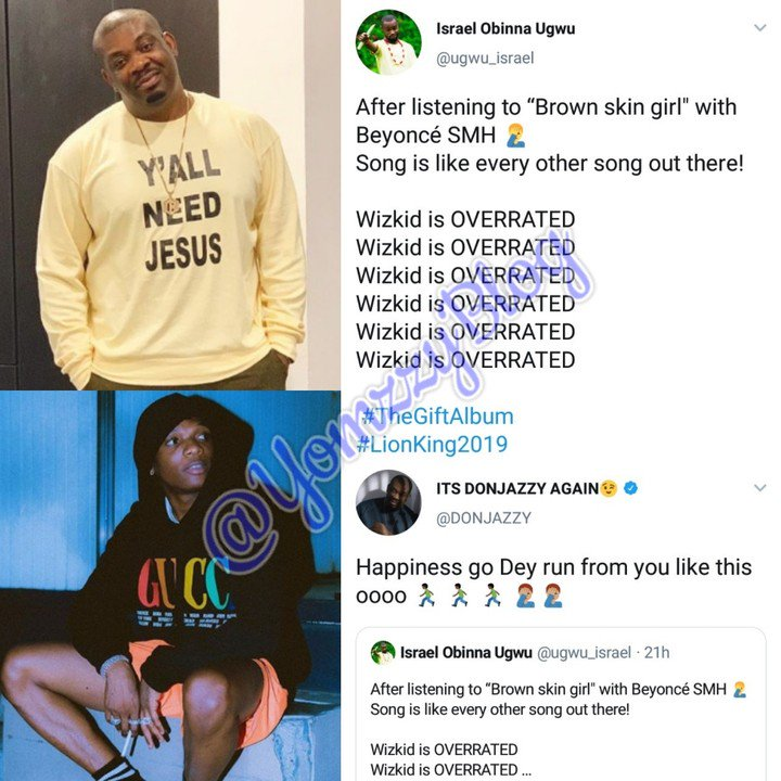 Don Jazzy Replies Man Who Says Wizkid Is Overrated 98643810