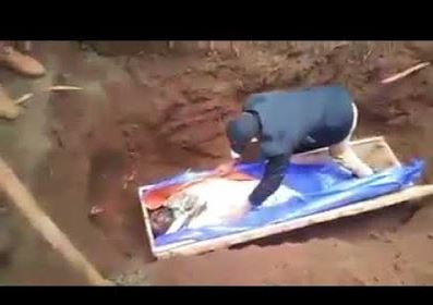 FAKE Prophet Arrested After Making A Family Dig Up Dead Man Only For Him To Fail To Resurrect Him (Photo) A-16410