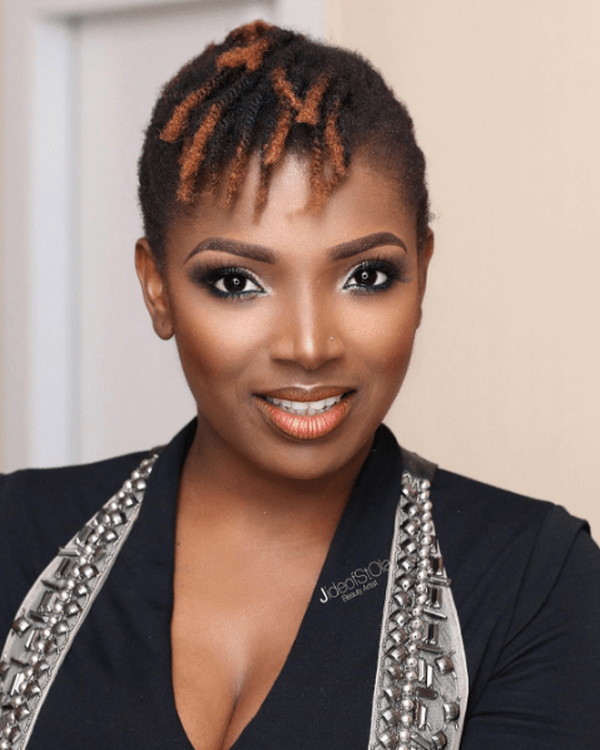 Annie Idibia Reacts To Post Claiming That She's Battling Cancer A-kid-10