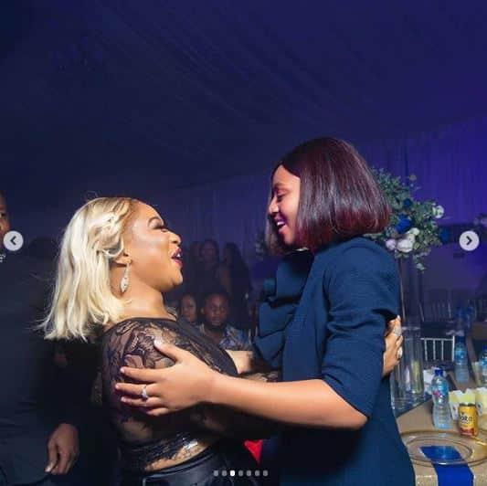 Actress Regina Daniels gushes about meeting Tonto Dikeh (photos) Actres17