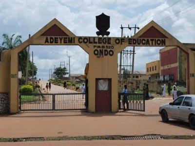 2018/2019  Adeyemi College of Education, Ondo (ACEONDO) UTME Degree 1st Batch Admission List  Adeyem10